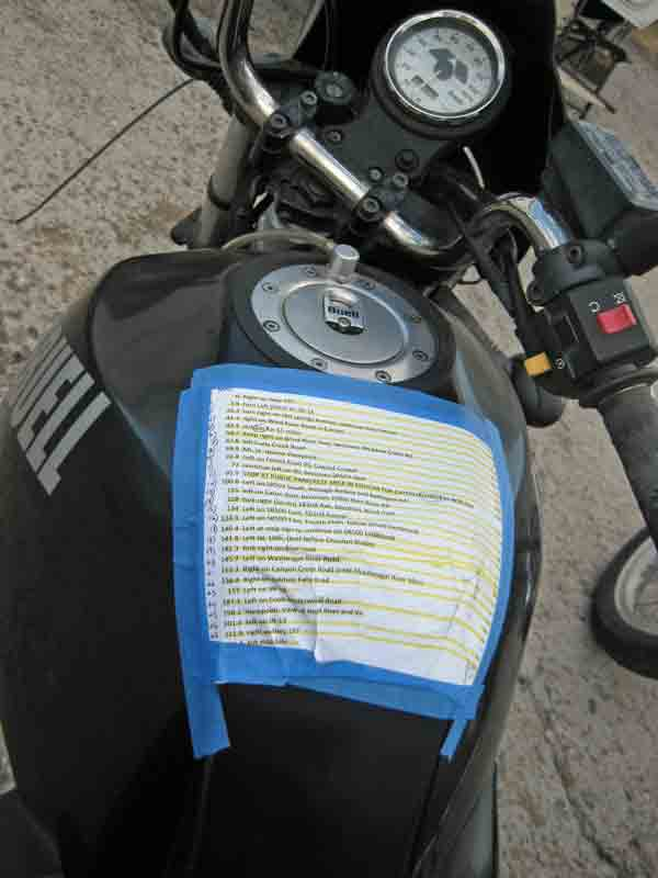 How to read while riding.