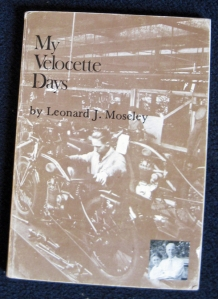 Cover of My Velocette Days by Leonard J. Moseley
