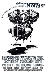 Poster for unfinished projects 2012