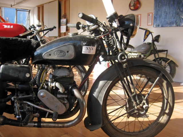 My 1946 Velocette GTP in the gallery