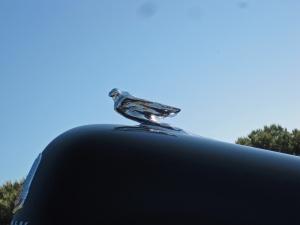 Flying Figure hood ornament