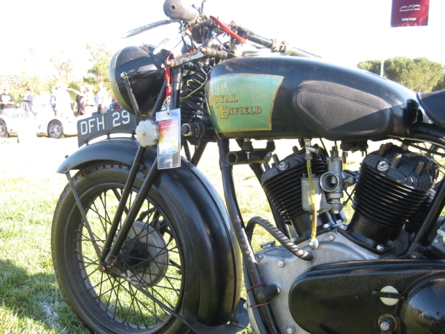 Royal Enfield in Marin Concours d'Elegance