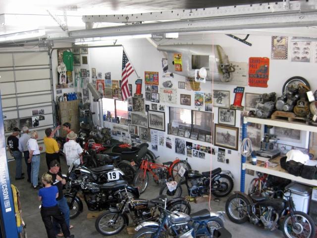one corner of Dee's shop
