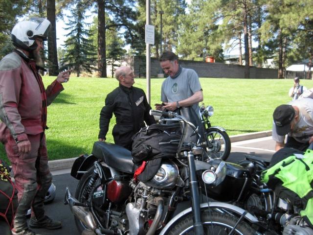 Jeff, Dana and Dai prepare for the day