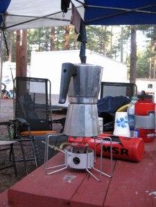 Mirek and Gwen's new coffee pot