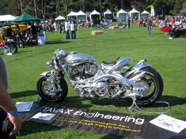 Art and function meet in this amazing motorcycle