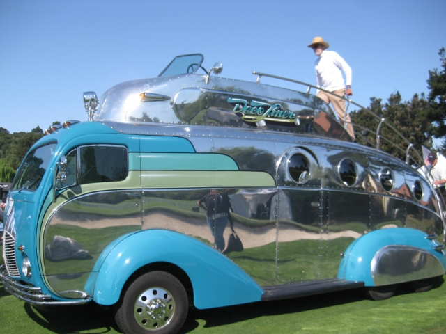 The Deco Liner also blended art with function, and was a big crowd-pleaser