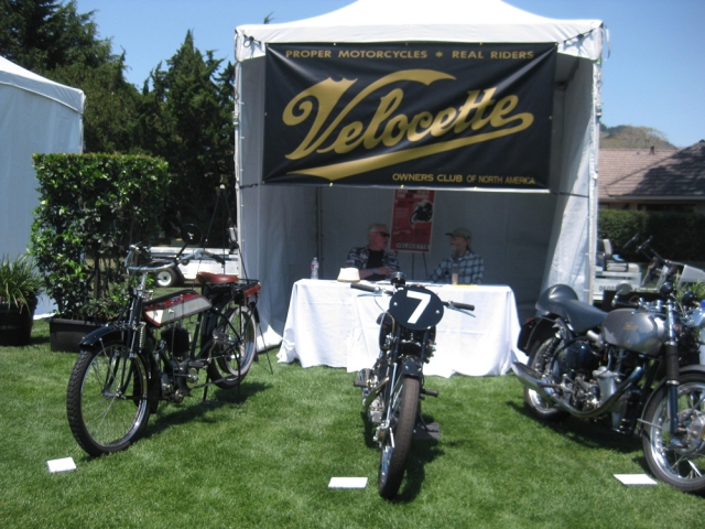 The Velocette Club of North America booth
