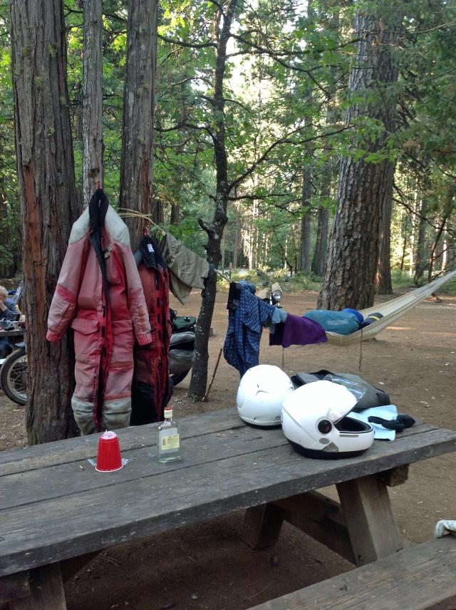 Campground stil life