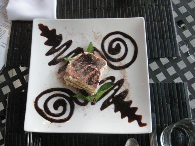 Dessert at Bui Bistro in Napa