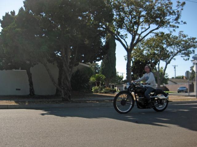 Whoo Hoo!  I'm riding a MAC!