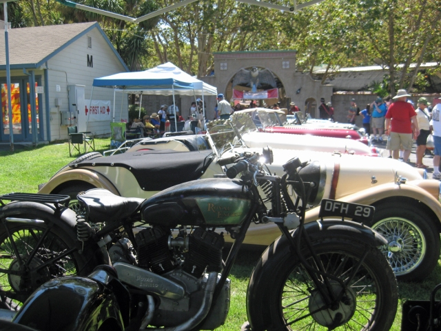 Royal Enfield and Morgans
