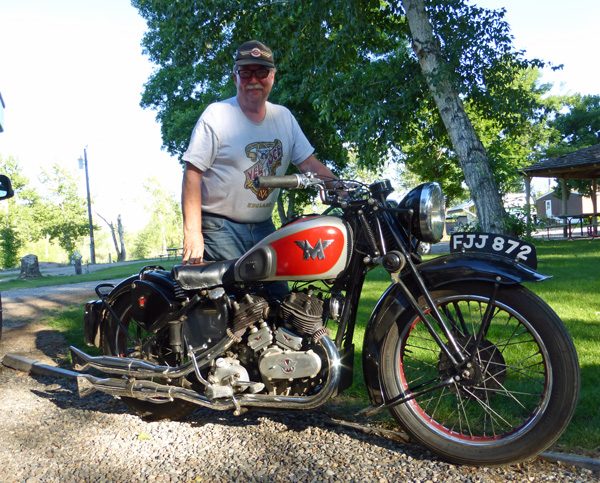 Fred and his Matchless