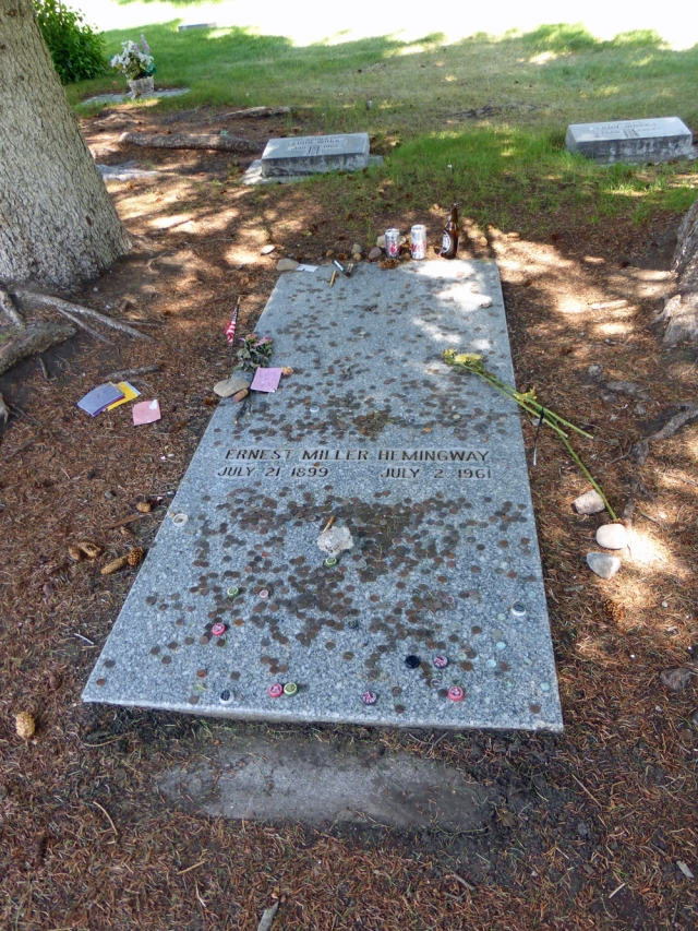 Hemingway's grave
