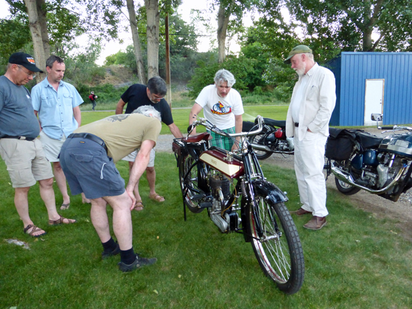 Pete and his amazing 1913 Veloce