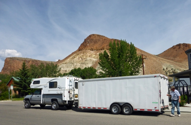 The rig in Challis
