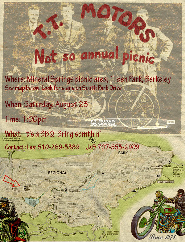 TT Motors Not so Annual Picnic flyer